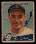 1934 Goudey #63  Minter Hayes  Front Thumbnail