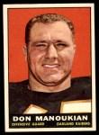 1961 Topps #188  Don Manoukian  Front Thumbnail