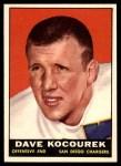 1961 Topps #173  Dave Kocourek  Front Thumbnail