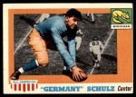 1955 Topps #87  Germany Schultz  Front Thumbnail