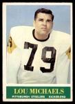 1964 Philadelphia #147  Lou Michaels   Front Thumbnail