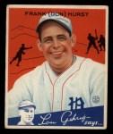 1934 Goudey #33  Don Hurst  Front Thumbnail