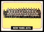 1964 Topps #131   New York Jets Team Front Thumbnail
