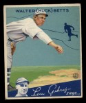 1934 Goudey #36  Walter Betts  Front Thumbnail