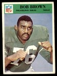1966 Philadelphia #134  Robert Brown  Front Thumbnail