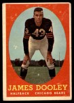 1958 Topps #8  James Dooley  Front Thumbnail