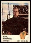 1961 Fleer #90  Paul Hornung  Front Thumbnail