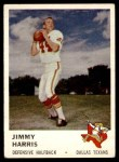 1961 Fleer #207  Jimmy Harris  Front Thumbnail