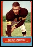 1963 Topps #126  Preston Carpenter  Front Thumbnail