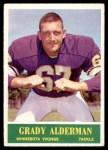 1964 Philadelphia #99  Grady Alderman  Front Thumbnail