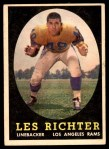 1958 Topps #105  Les Richter  Front Thumbnail