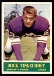 1964 Philadelphia #110  Mick Tingelhoff  Front Thumbnail