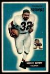 1955 Bowman #156  Maurice Bassett  Front Thumbnail