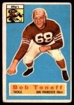 1956 Topps #98  Bob Toneff  Front Thumbnail