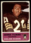 1962 Fleer #70  George Fleming  Front Thumbnail