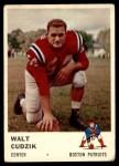 1961 Fleer #182  Walt Cudzik  Front Thumbnail