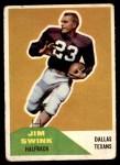 1960 Fleer #69  Jim Swink  Front Thumbnail