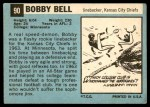 1964 Topps #90  Bobby Bell  Back Thumbnail