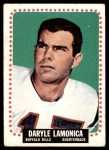 1964 Topps #31  Daryle Lamonica  Front Thumbnail