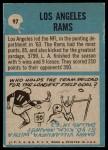 1964 Philadelphia #97   Rams Team Back Thumbnail