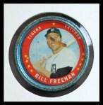 1971 Topps Coins #38  Bill Freehan  Front Thumbnail