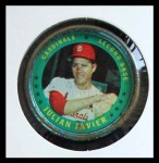 1971 Topps Coins #39  Julian Javier  Front Thumbnail