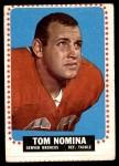 1964 Topps #57  Tom Nomina  Front Thumbnail