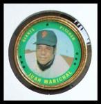 1971 Topps Coins #125  Juan Marichal  Front Thumbnail