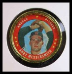 1971 Topps Coins #112  Andy Messersmith  Front Thumbnail