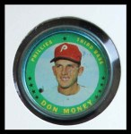 1971 Topps Coins #31  Don Money  Front Thumbnail