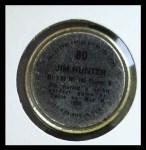 1971 Topps Coins #80  Catfish Hunter  Back Thumbnail