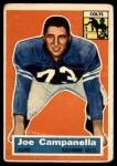 1956 Topps #24  Joe Campanella  Front Thumbnail