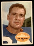 1960 Topps #77  Pat Summerall  Front Thumbnail