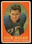 1958 Topps #131  Dick Nolan  Front Thumbnail