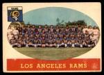 1958 Topps #85   Rams Team Front Thumbnail