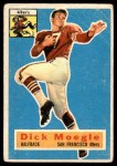 1956 Topps #14  Dick Moegle  Front Thumbnail
