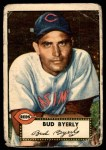 1952 Topps #161 CRM Bud Byerly  Front Thumbnail