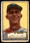 1952 Topps #319  Al Walker  Front Thumbnail