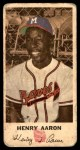 1954 Johnston Cookies #5  Hank Aaron  Front Thumbnail