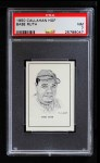 1950 Callahan Hall of Fame #63  Babe Ruth  Front Thumbnail