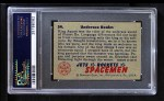 1951 Bowman Jets Rockets and Spacemen #54   Undersea Realm Back Thumbnail
