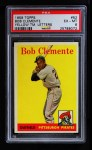 1958 Topps #52 YT Roberto Clemente   Front Thumbnail