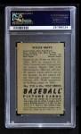 1952 Bowman #218  Willie Mays  Back Thumbnail