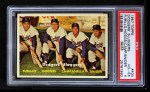 1957 Topps #400   -  Duke Snider / Roy  Campanella /  Carl Furillo / Gil Hodges Dodgers' Sluggers Front Thumbnail