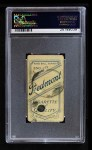1909 T206 POR Christy Mathewson  Back Thumbnail