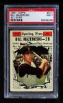 1961 Topps #571   -  Bill Mazeroski All-Star Front Thumbnail