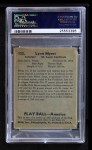 1939 Play Ball #133  Lynn Myers  Back Thumbnail