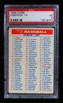 1956 Topps   Checklist Series 1/3 Front Thumbnail