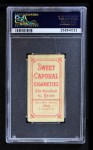 1909 T206 YEL Frank Chance  Back Thumbnail