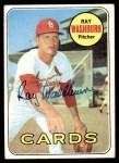 1969 Topps #415  Ray Washburn  Front Thumbnail